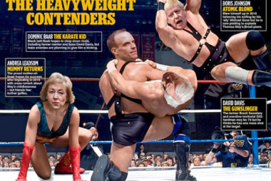 Trust the Daily Mail to recognise the WWE metaphor...